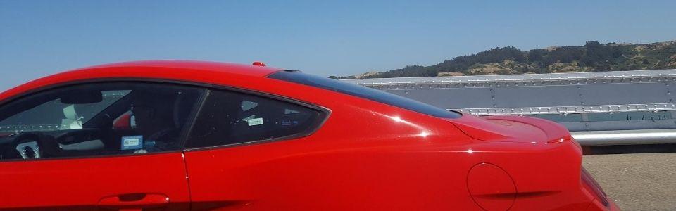 Cool röd bil